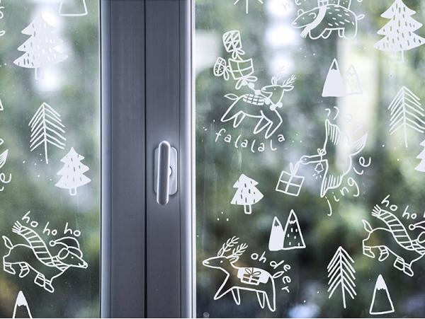 Acheter Décorez vos vitres - Noël enchanté - Mon kit de dessin sur fenêtres - 9,99€ en ligne sur La Petite Epicerie - Loisir...