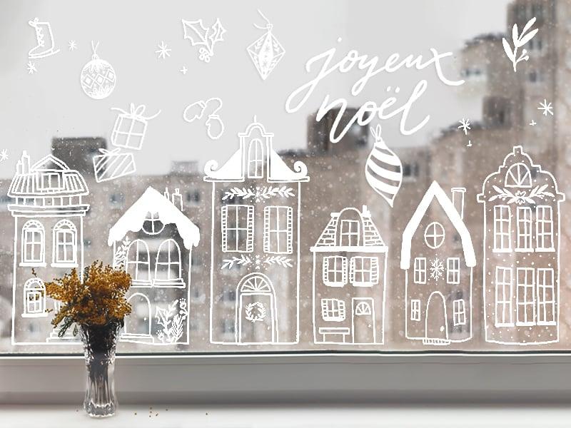 Acheter Decorez Vos Vitres Scandinave Mon Kit De Dessin Sur Fenetres En Ligne
