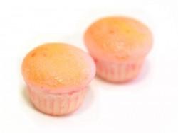 1 mini cupcake à la fraise