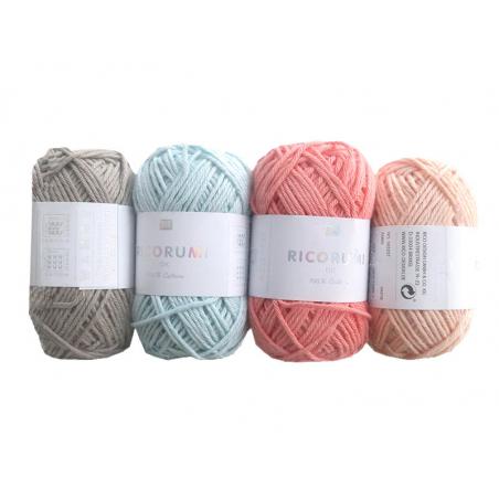 Acheter Set de 20 pelotes de coton - Baby Pastel - Ricorumi - 28,99€ en ligne sur La Petite Epicerie - Loisirs créatifs