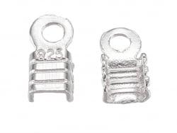 Acheter 5 serre fils - plaqué argent - 2 mm - 3,99€ en ligne sur La Petite Epicerie - Loisirs créatifs