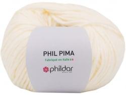 Acheter Laine Phil Pima coton du Pérou - Vanille - 7,49€ en ligne sur La Petite Epicerie - Loisirs créatifs