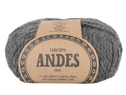Acheter Laine Drops - Andes - 0519 Gris foncé (mix) - 5,60€ en ligne sur La Petite Epicerie - Loisirs créatifs