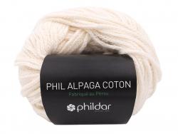 Acheter Laine Phil Alpaga coton - Ecru - 4,59€ en ligne sur La Petite Epicerie - Loisirs créatifs