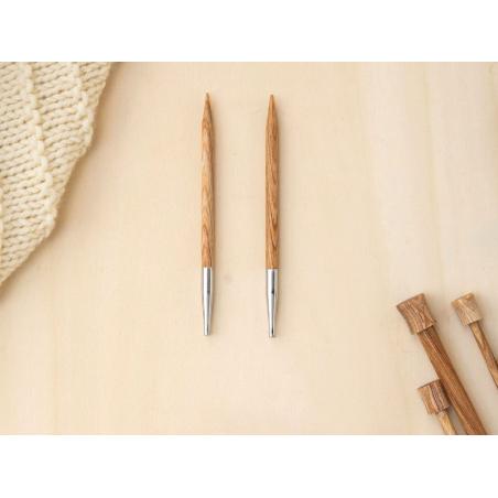Acheter Aiguilles circulaires interchangeables en bois - 5 mm - 6,89€ en ligne sur La Petite Epicerie - Loisirs créatifs