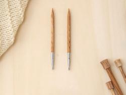 Acheter Aiguilles à tricoter interchangeables en bois - 7 mm - 6,89€ en ligne sur La Petite Epicerie - Loisirs créatifs
