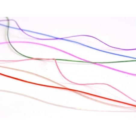 Acheter 12 m de fil élastique brillant - Blanc - 1,59€ en ligne sur La Petite Epicerie - Loisirs créatifs