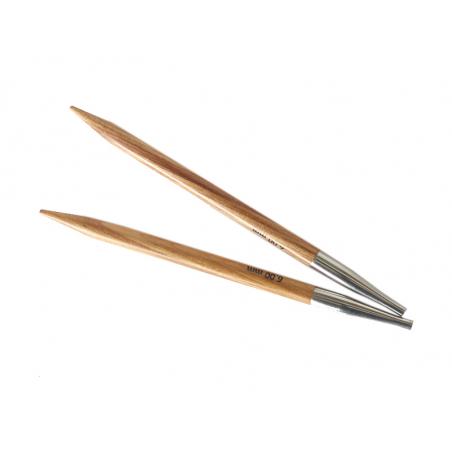 Acheter Aiguilles circulaires interchangeables en bois - 6 mm - 6,89€ en ligne sur La Petite Epicerie - Loisirs créatifs