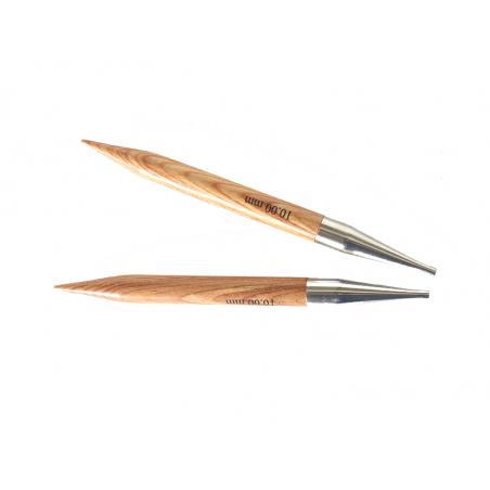 Acheter Aiguilles circulaires interchangeables en bois - 10 mm - 6,89€ en ligne sur La Petite Epicerie - Loisirs créatifs