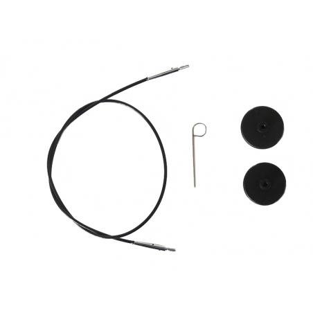 Acheter Câble interchangeable aiguille à tricoter - 60 mm - 3,89€ en ligne sur La Petite Epicerie - Loisirs créatifs
