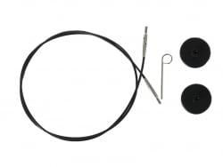 Acheter Câble interchangeable aiguille à tricoter - 80 mm - 3,89€ en ligne sur La Petite Epicerie - Loisirs créatifs