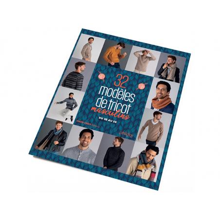 Acheter Catalogue Phildar n°868 - 32 modèles de tricots masculins - 15,90€ en ligne sur La Petite Epicerie - Loisirs créatifs