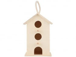 Acheter Maison en bois à décorer - Nichoir à oiseaux - 16,99€ en ligne sur La Petite Epicerie - Loisirs créatifs