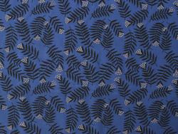 Acheter Tissu viscose Cousette Rameaux - Bleu - 1,99€ en ligne sur La Petite Epicerie - Loisirs créatifs