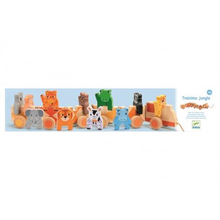 Acheter Trainimo Jungle - Djeco - 29,89€ en ligne sur La Petite Epicerie - Loisirs créatifs