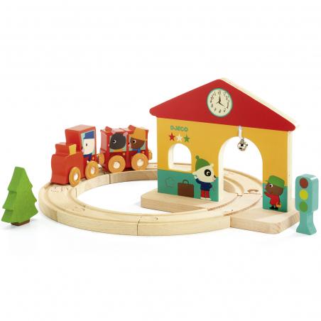 Acheter Minitrain - Djeco - 26,89€ en ligne sur La Petite Epicerie - Loisirs créatifs