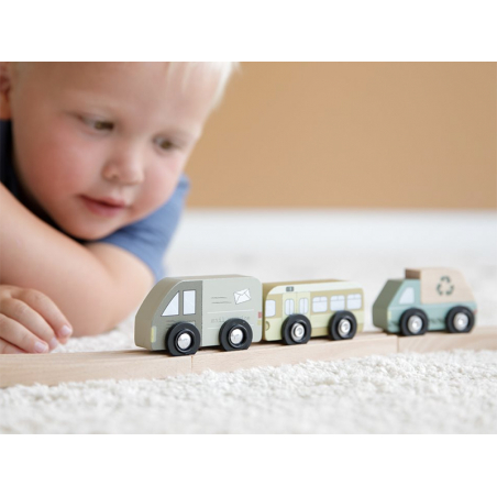 Acheter Kit d'extension véhicules pour circuit train - Little Dutch - 16,99€ en ligne sur La Petite Epicerie - Loisirs créatifs