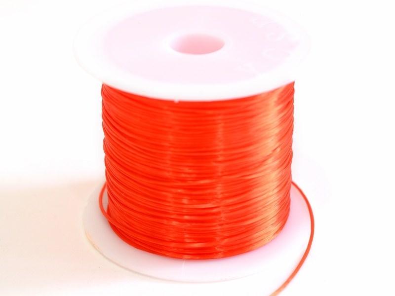 Acheter 12 m de fil élastique brillant - Rouge - 1,59€ en ligne sur La Petite Epicerie - Loisirs créatifs