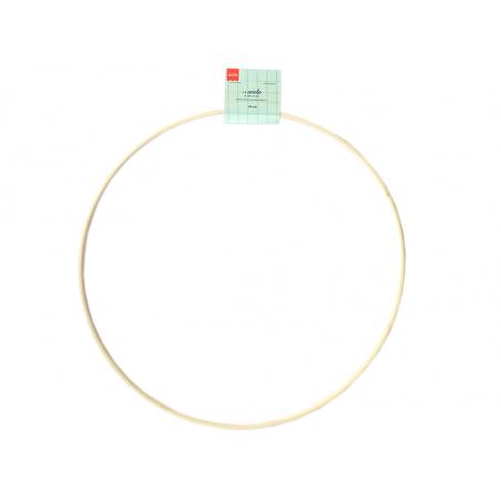 Acheter Cercle en bois bambou à décorer - 35 cm - 2,99€ en ligne sur La Petite Epicerie - Loisirs créatifs