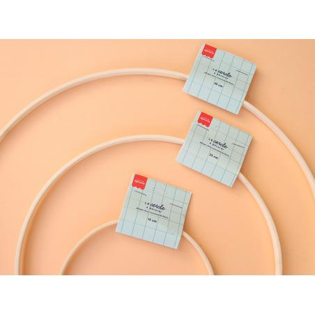 Acheter Cercle en bois bambou à décorer - 15 cm - 2,69€ en ligne sur La Petite Epicerie - Loisirs créatifs