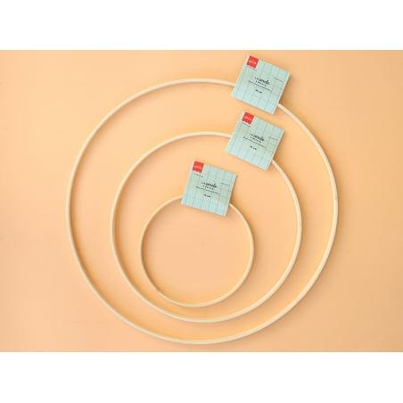 Acheter Cercle en bois bambou à décorer - 25 cm - 2,79€ en ligne sur La Petite Epicerie - Loisirs créatifs
