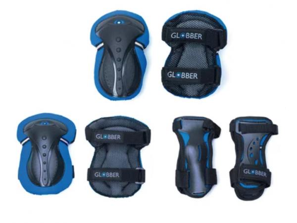 Acheter Set de 3 protections junior - Bleu - Globber - 16,99€ en ligne sur La Petite Epicerie - Loisirs créatifs