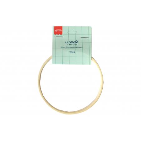 Acheter Cercle en bois bambou à décorer - 10 cm - 2,49€ en ligne sur La Petite Epicerie - Loisirs créatifs