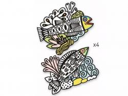 Acheter Coloriages velours - Poissons - 7,49€ en ligne sur La Petite Epicerie - Loisirs créatifs