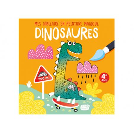 Acheter Mes tableaux en peinture magique - Dinosaures - 6,95€ en ligne sur La Petite Epicerie - Loisirs créatifs
