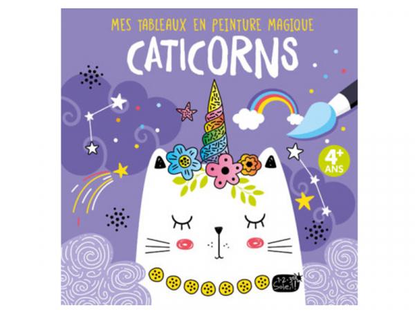 Acheter Mes tableaux en peinture magique - Caticorns - 6,95€ en ligne sur La Petite Epicerie - Loisirs créatifs