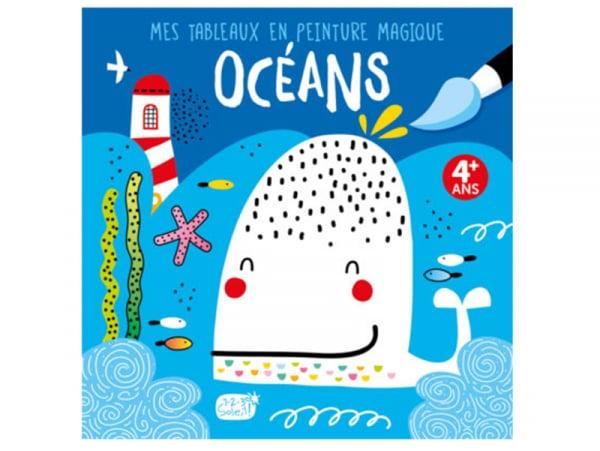 Acheter Mes tableaux en peinture magique - Océans - 6,95€ en ligne sur La Petite Epicerie - Loisirs créatifs