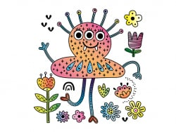 Acheter Mes tableaux en peinture magique - Monstres - 6,95€ en ligne sur La Petite Epicerie - Loisirs créatifs