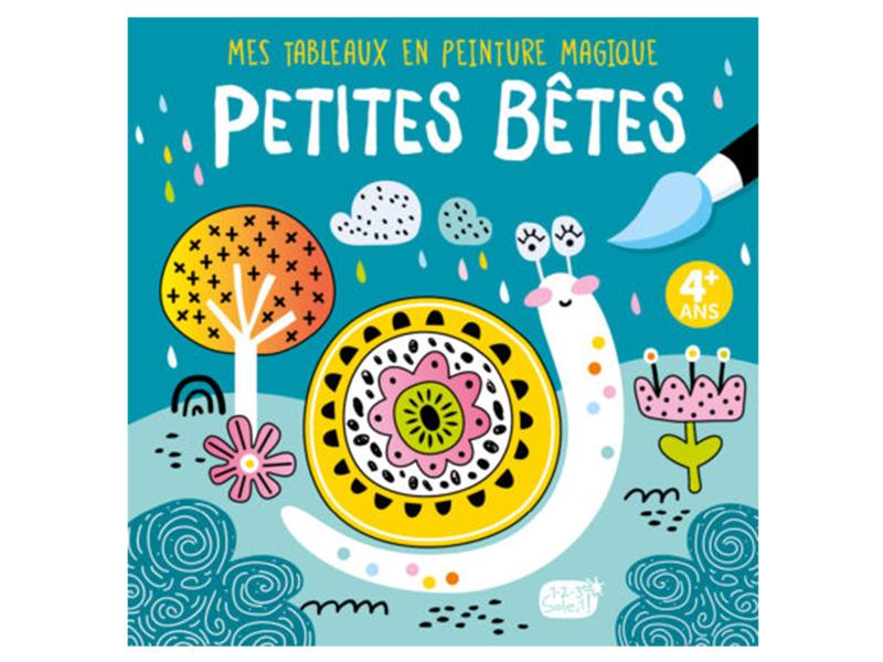 Acheter Mes tableaux en peinture magique - Petites bêtes - 6,95€ en ligne sur La Petite Epicerie - Loisirs créatifs