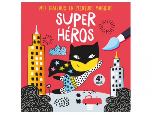 Acheter Mes tableaux en peinture magique - Super héros - 6,95€ en ligne sur La Petite Epicerie - Loisirs créatifs