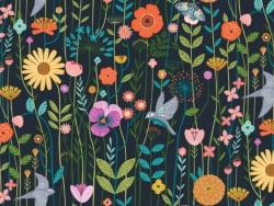"""Acheter Tissu coton Dashwood """"aviary"""" - 1,83€ en ligne sur La Petite Epicerie - Loisirs créatifs"""