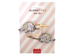 Acheter Barrettes cheveux - Eléphants - 4,99€ en ligne sur La Petite Epicerie - Loisirs créatifs