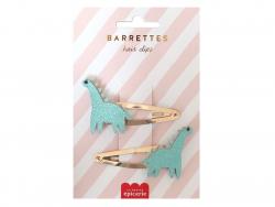 Acheter Barrettes cheveux - Dinosaures - 4,99€ en ligne sur La Petite Epicerie - Loisirs créatifs