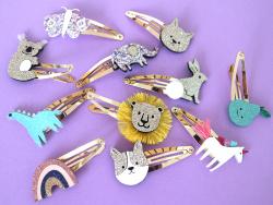 Acheter Barrettes cheveux - Papillons - 4,99€ en ligne sur La Petite Epicerie - Loisirs créatifs