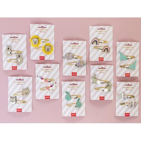 Acheter Barrettes cheveux - Poires - 4,99€ en ligne sur La Petite Epicerie - Loisirs créatifs