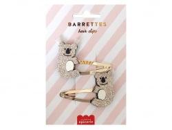 Acheter Barrettes cheveux - Koalas - 4,99€ en ligne sur La Petite Epicerie - Loisirs créatifs