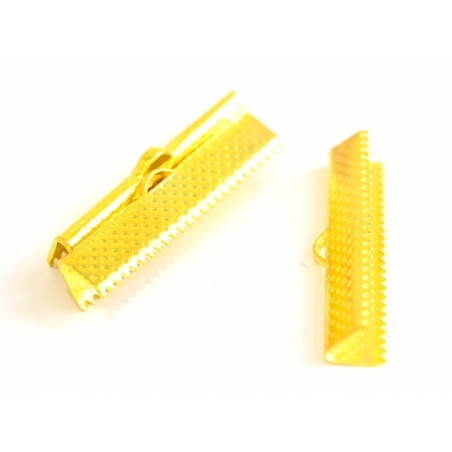 Acheter Fermoir griffe pour biais de tissu 30 mm - doré - 0,39€ en ligne sur La Petite Epicerie - Loisirs créatifs