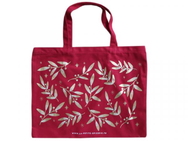 Acheter Sac coton La Petite Epicerie Noël 2020 - rouge - 9,99€ en ligne sur La Petite Epicerie - Loisirs créatifs