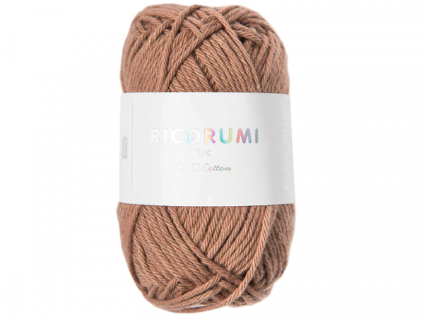 Acheter Pelote Ricorumi coton DK - Praline (56) - 1,19€ en ligne sur La Petite Epicerie - Loisirs créatifs