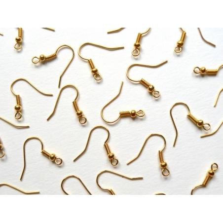 Acheter 10 paires de boucles d'oreilles dorées - 2,29€ en ligne sur La Petite Epicerie - Loisirs créatifs