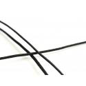 1 m de cordon élastique 1 mm - Noir
