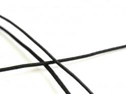 1 m of elastic cord, 1 mm - black