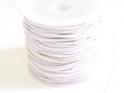 1 m of elastic cord, 1 mm - white