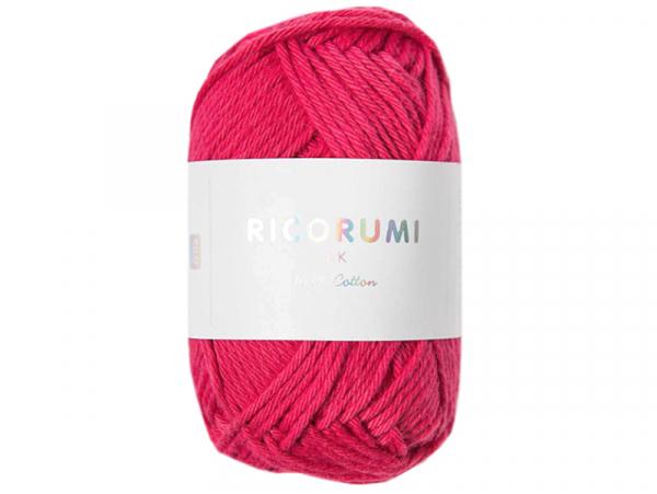 Acheter Pelote Ricorumi coton DK - Framboise (13) - 1,19€ en ligne sur La Petite Epicerie - Loisirs créatifs