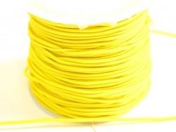 1 m de cordon élastique 1 mm - Jaune