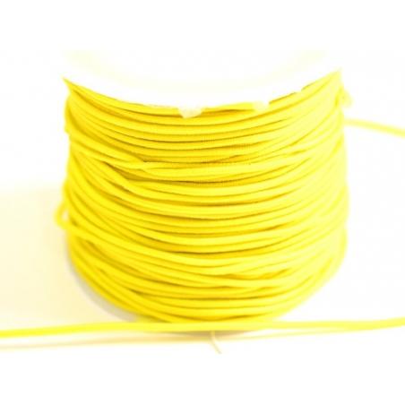 Acheter 1 m de cordon élastique 1 mm - Jaune - 0,69€ en ligne sur La Petite Epicerie - 100% Loisirs créatifs